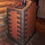 Как правильно обложить металлическую печь кирпичом в бане 1