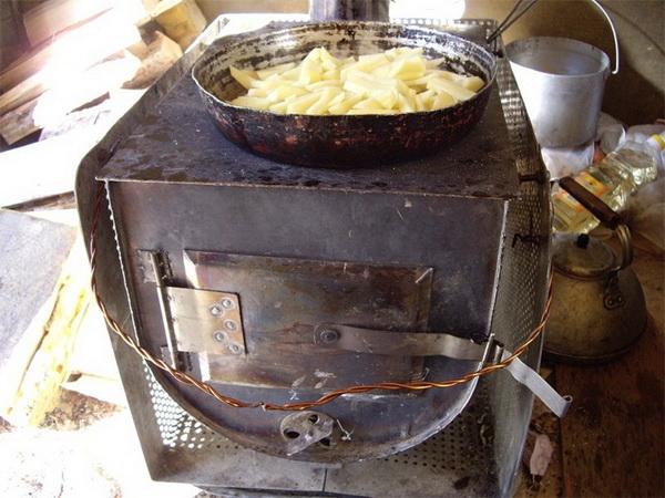 Печь для гаража своими руками – отопление гаража на дровах 2