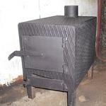 Печка в гараж своими руками - варианты на отработке, дровах, электричестве 1